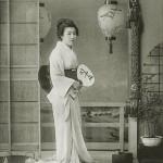 Гейша Цумако つま子, 19 лет, квартал Синбаси