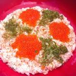 Икура-дон: икра лосося поверх риса