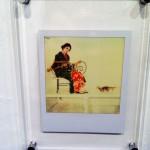 Один из полароидных снимков Нобуёси Араки, что мы видели на выставке. Заявленная цена составляла 30 тыс. иен