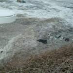 Унесённые цунами автомобили. 11-е марта 2011 г.