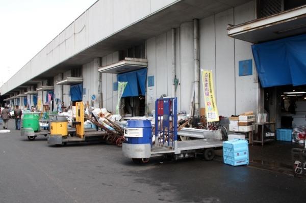 Рыбный рынок в Киото