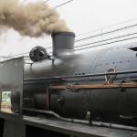 Из трубы C61-20 валит густой дым
