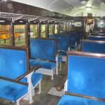 Вагон №6 изнутри. Станция JR Сибукава, 5-е июня 2011 г.