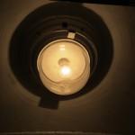 Одна из ламп в старом стиле