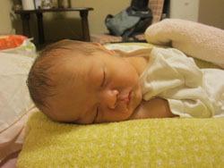 Лука, новорожденный сын автора статьи