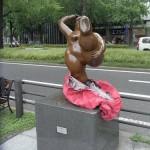 japan_midosuji_red_cloth_19