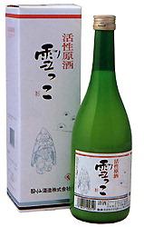 Сакэ марки «Yukikko» производства «Suisen Shuzo»