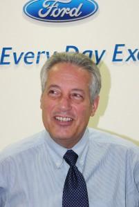 Тим Такер, президент компании «Ford Japan Ltd»