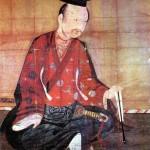 Портрет Минамото-но Ёсицунэ, японского воителя конца эпохи Хэйан, который, как говорят, после проигранной битвы свёл счёты с жизнью в Хираидзуми (снимок предоставлен храмом Тюсон-дзи)