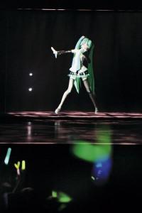 Выступление Хацунэ Мику