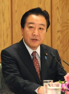 Ёсихико Нода даёт интервью в официальной резиденции премьер-министра в Токио. 17-е октября 2011 г.