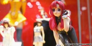 Аниме и манга настолько распространены в Японии, что подобные фигурки там совсем не редкость
