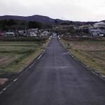 Заброшенный город Иитатэ, находящийся за пределами зоны отчуждения. Жителям пришлось покинуть его в связи с ростом уровня радиации внутри зоны. 20-е ноября 2011 г.