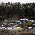 Заброшенные дома в Иитатэ, 20-е ноября 2011 г.