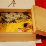 """Суси. Темой конкурса суси в этот раз был """"Тохоку"""" (район на северо-востоке Японии, пострадавший во время мартовских событий). Большинство работ так или иначе эту тему обыгрывали. Вот тут образ префектуры Иватэ"""