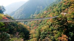 Мост Момиги в Гоканосё