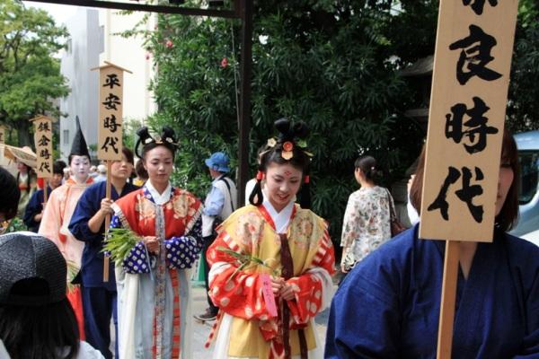 Краткая история японских женских причесок