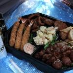 Торжественный обед в честь сакуры