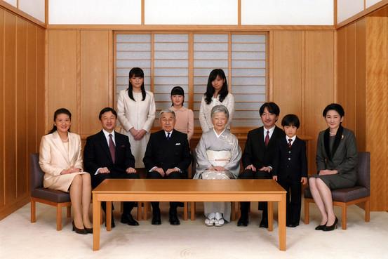 Императорская семья, декабрь 2011 г. (Associated Press/Imperial Household Agency)