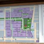 Карта территории храма Дайтоку-дзи