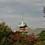 Пагода Ясака, вид сверху