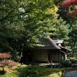 Чайный домик на территории Кодай-дзи
