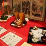 Композиция из еды, посвященная истории 47 ронинов. В середине декабря как раз отмечают очередную годовщину их подвига