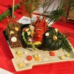 Тыква с лобстером в декорациях