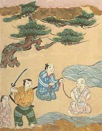 Отрубленные головы потом выставлялись на мостах Годзё-охаси и Ситидзё-охаси