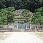 Бюст находится в храме Ноги, неподалёку от Фусими-Момояма