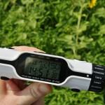 Документальный кадр. Дата, время и в правом нижнем углу - температура окружающей среды. Лето, да