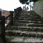 Вот эта лестница должна привести к храмам. Ножками, ножками идем. Паломники мы или где?