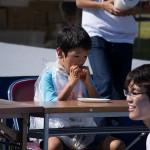 Мальчик был самым маленьким, но ел относительно шустро, я даже за него болела, но он второе место занял