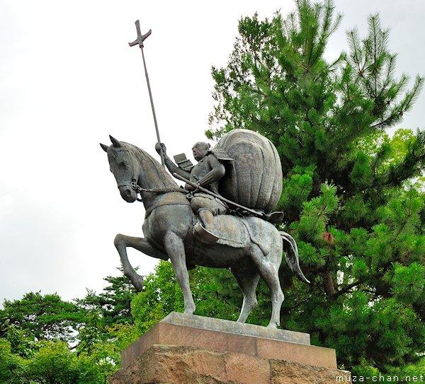 maeda-toshiie-statue-oyama-shrine