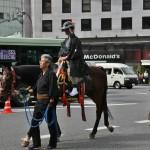 Конный самурай в походном виде