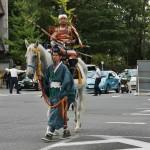 Сёгунат семьи Асикага представлен в виде самураев-чиновников разных рангов и занятий. Вот этот красавчик - не поверите! - финансист. Министр финансов. С таким не забалуешь