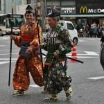 Нарядные самурайчики
