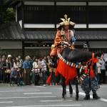 Собственно Кусуноки Масаcигэ, попытавшийся вернуть власть императору Го-Дайго