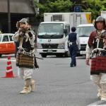 """Бронированная пехота раннего Хэйана и периода Нара. До установление """"мира и спокойствия"""" местные вояки (еще не самураи, которых пока нет и в заводе) носили на себе кучу железа"""