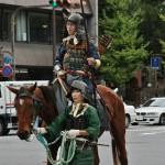 И конные вояки тоже водились, из тогдашней знати