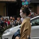 """Типичная женская прическа конца периода Эдо для замужней дамы. Стиль """"когаи-магэ"""""""