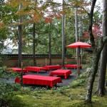 Тут можно попить традиционного японского чайку с конфеткой