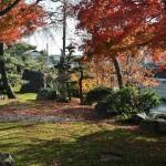 Микро-садик, относящийся к жилому кварталу рядом с прудом Хиросава. Не храм, но место ухоженное