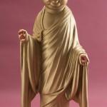 """Автор - Кандзан 漢山. Название - """"Кошачий будда"""". Сочетание буддийской мудрости и надежды на удачу"""