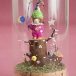 """Автор - Коидэ Нобухиса 小出信久. Название - """"Кот звездного дерева"""". Есть такое дерево, на котором растут звезды. Звезды, как известно, тоже могут исполнять желания. Вот за ростками этого дерева приглядывают особые коты удачи"""