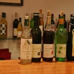 Вот эти пять сортов виноградных вин нам и предложили попробовать