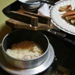 Рис, приготовленный с рыбкой и приправами