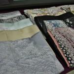 Еще кимоно. Эти и предыдущее фото - хомонги, кимоно для визитов. Средней формальности
