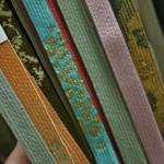 Обвязки для пояса, оби-дзимэ. Это тоже часть комплекта кимоно и должна тщательно подбираться по цвету