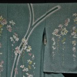 Фрагмент кимоно с самого первого фото. Это классический юдзэн